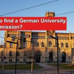 How to find a German University for admission