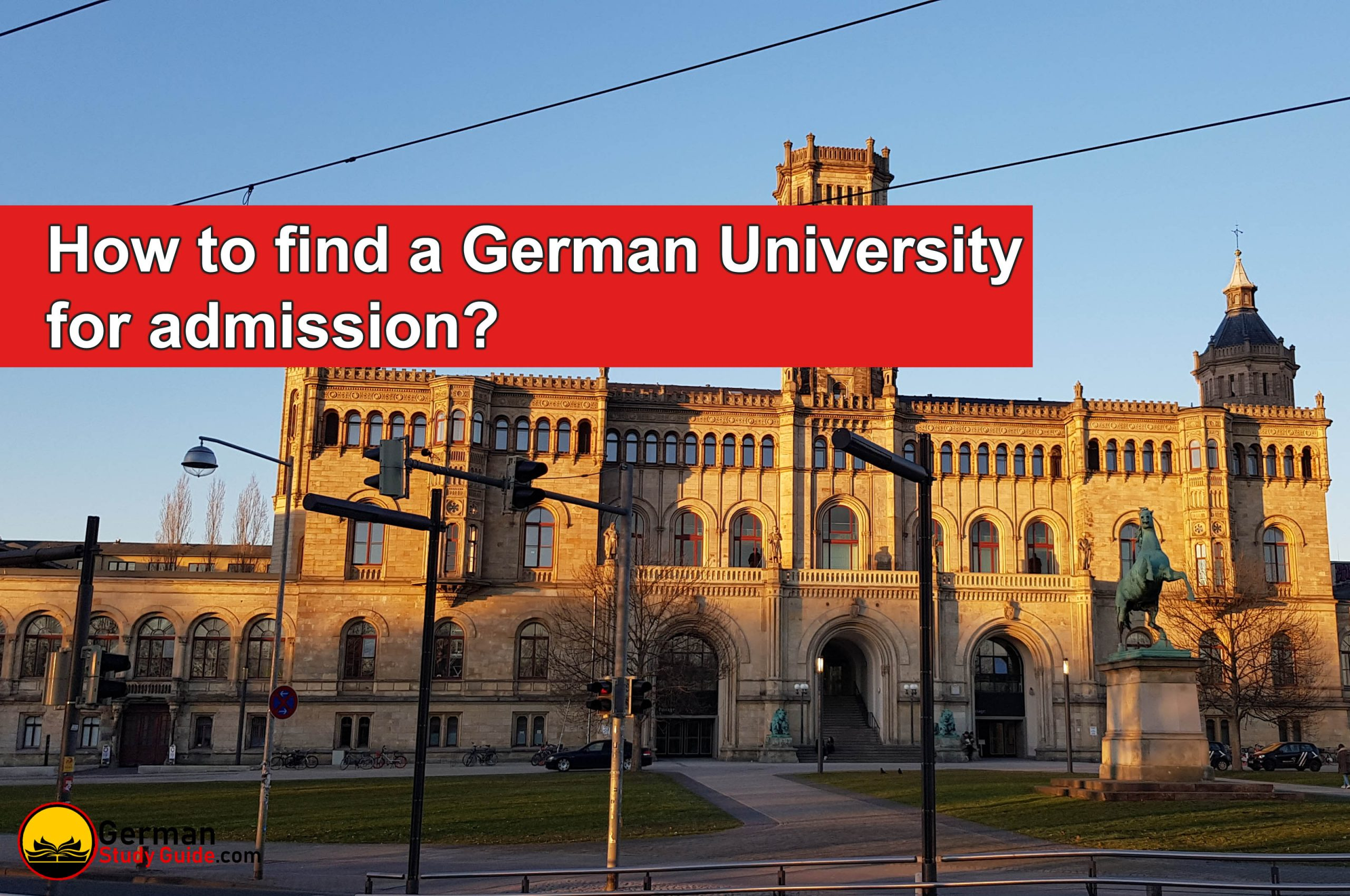 How to Find German University for Admission?