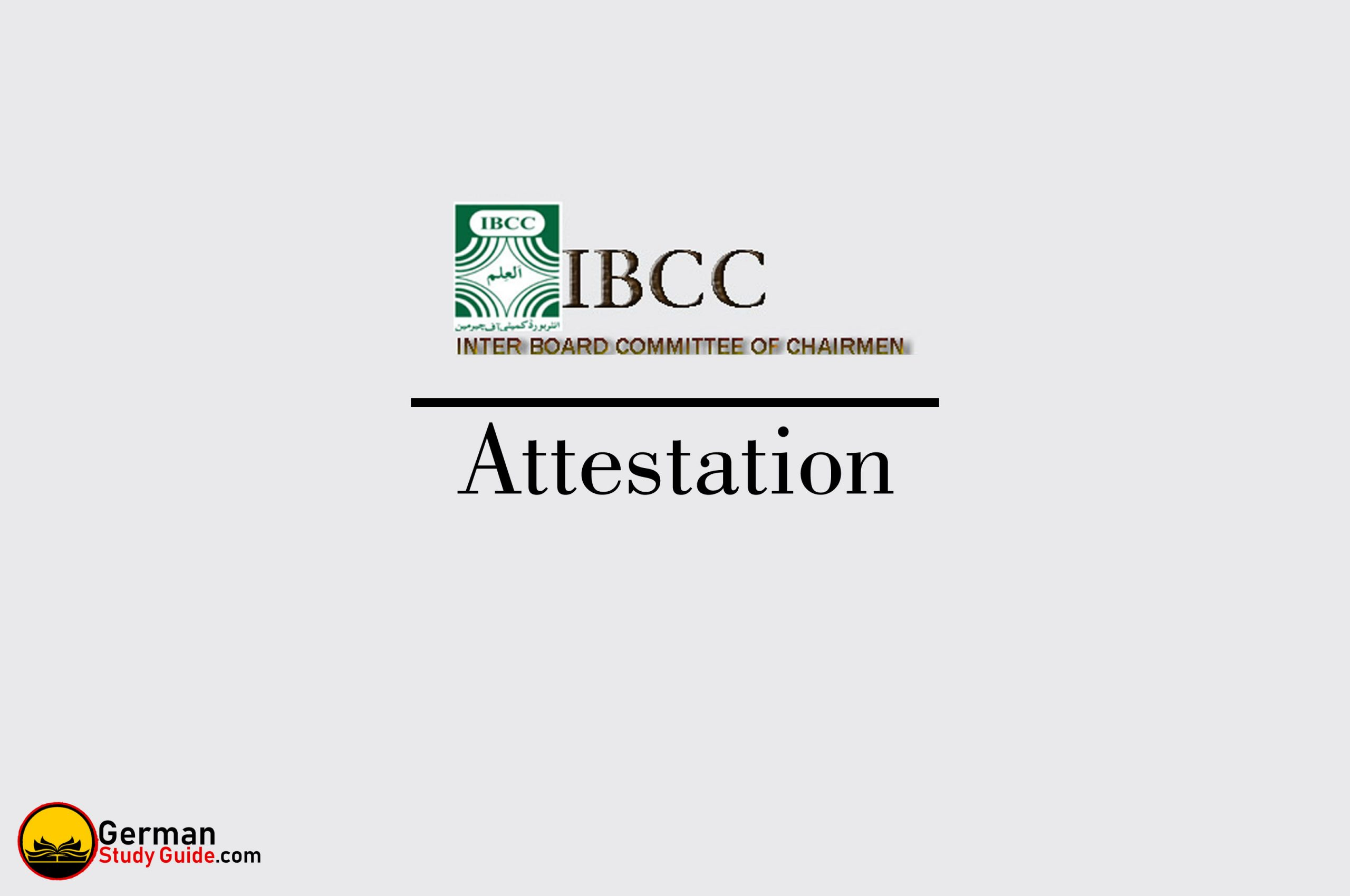 IBCC Attestation Process