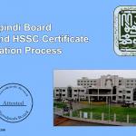 Rawalpindi Board SSC and HSSC certificate verification process