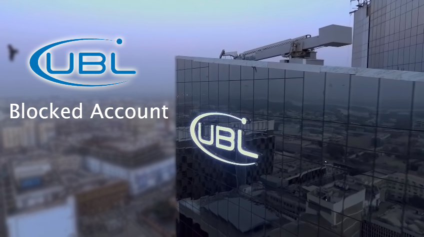 Block Account in UBL Bank for Germany